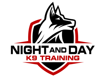 Night and Day K9 Training logo design