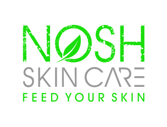 NOSH Skin Care feed your skin logo design