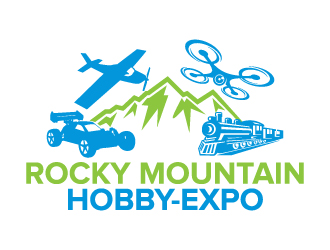Rocky Mountain Hobby-Expo logo design