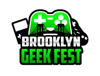 Brooklyn Geek Fest logo design