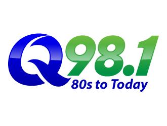Q 98.1 logo design winner