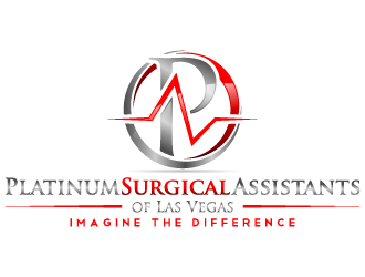 Platinum Surgical Assistants of Las Vegas logo design