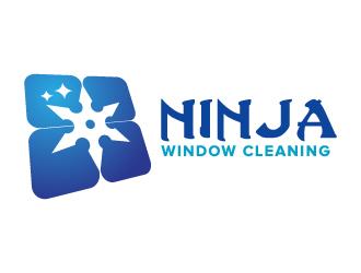 Ninja Window Cleaning logo design