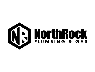 NorthRock Plumbing & Gas logo design
