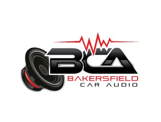 Bakersfield Car Audio logo design