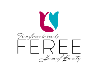 FERE HOUSE OF BEAUTY logo design