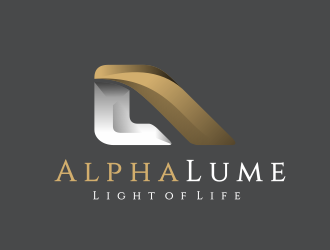 Alpha Lume logo design