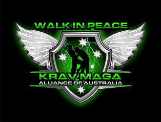 Krav Maga Alliance of Australia (KMAA) logo design
