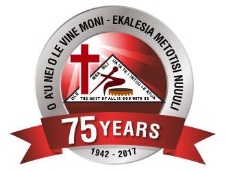 O A'U O LE VINE MONI - EKALESIA METOTISI NUUULI logo design