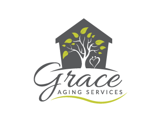 Grace Aging Services logo design