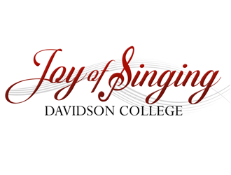 Joy of Singing Davidson College logo design