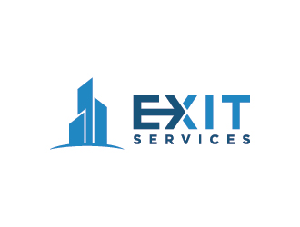 Exit Services logo design