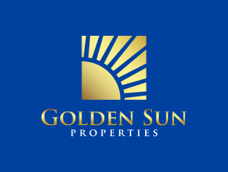 Golden Sun Properties logo design