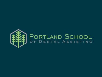 Portland School of Dental Assisting logo design