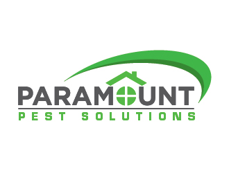 Paramount Pest Solutions logo design