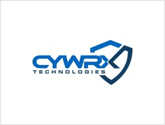 CYWRX Technologies or CYWRX Tech logo design