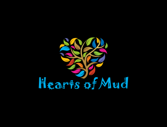 Hearts of Mud logo design