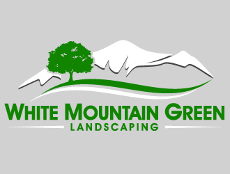 White Mountain Green Landscaping logo design