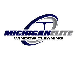 Michigan Elite Window Cleaning LLC logo design