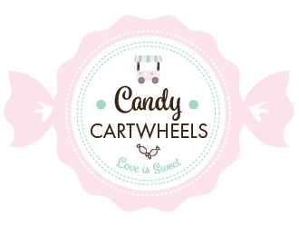 Candy Cartwheels logo design