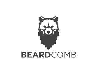 Beardcomb logo design