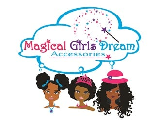 Magical Girls Dream Accessories logo design