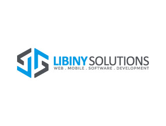 Libiny Solutions logo design