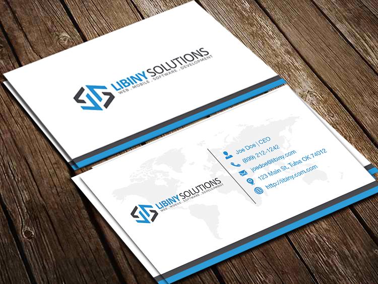 Libiny Solutions LLC logo design