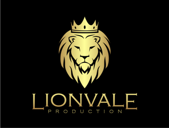 Lionvale Production logo design