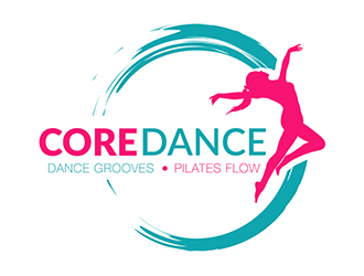 CoreDance or Core Dance (word can be joined or separate) logo design