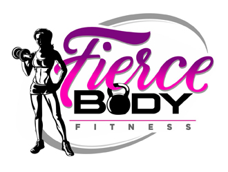 Fierce Body Fitness logo design