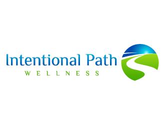 Intentional Path Wellness logo design
