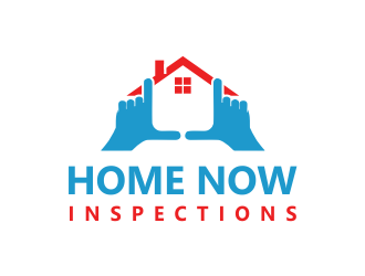 Home Now Inspections logo design