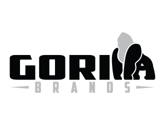Gorilla Brands logo design