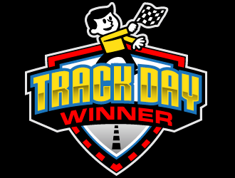 Track Day Winner logo design