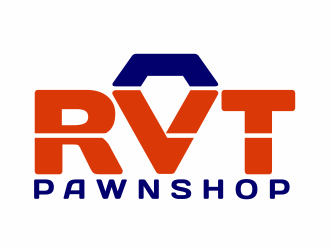RVT Pawnshop logo design