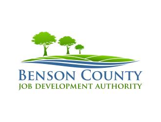 BCJDA Benson County Job Development Authority logo design