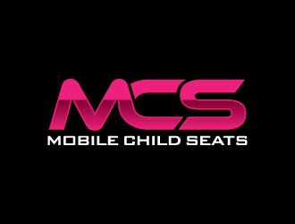 mobile child seats logo design