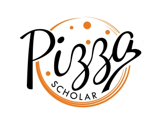 Pizza Scholar logo design
