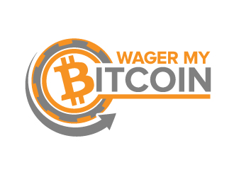 Wager My Bitcoin logo design