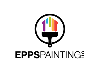 Epps Painting LLC. logo design