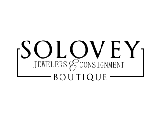 Solovey Jewelers & Consignment Boutique or Solovey Jewelers & Consignments logo design
