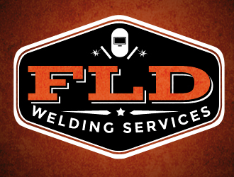 FLD WELDING SERVICES logo design