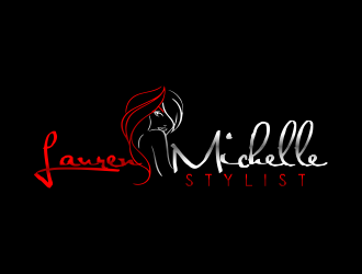 Lauren Michelle Stylist logo design