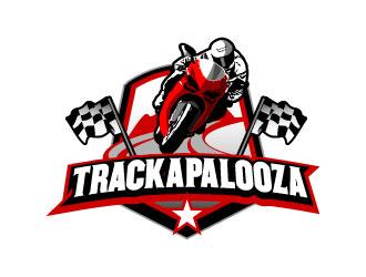 Trackapalooza logo design