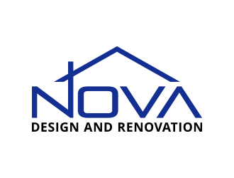 Nova Design and Renovation logo design