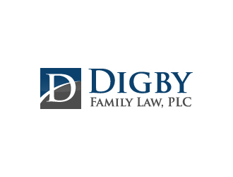 Digby Family Law, PLC logo design