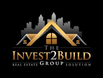 The Invest2Build Group logo design