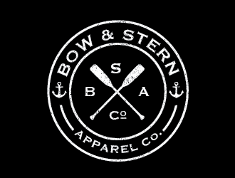 Bow & Stern Apparel Co. logo design