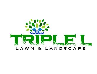 Triple L Lawn & Landscape logo design